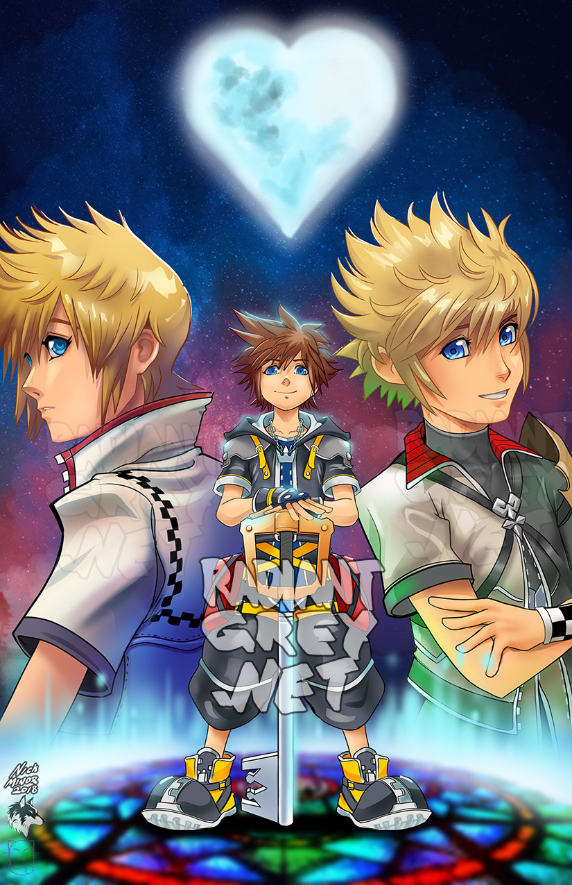 Nick minor kingdom hearts copy