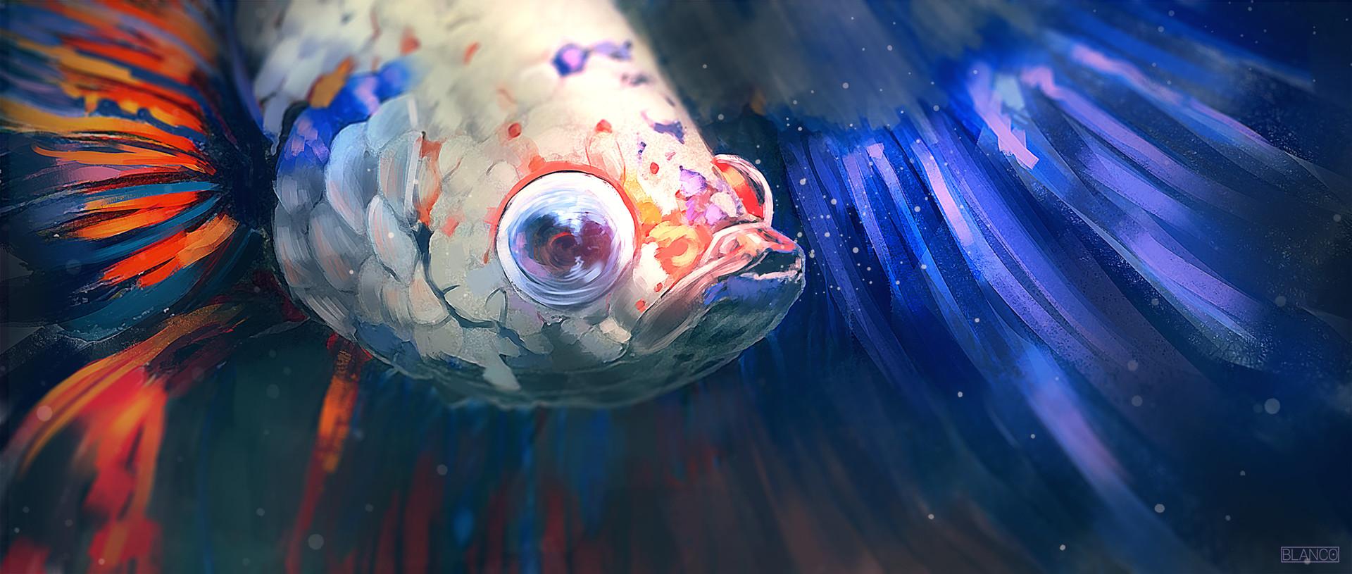 Felipe blanco peixe onirico