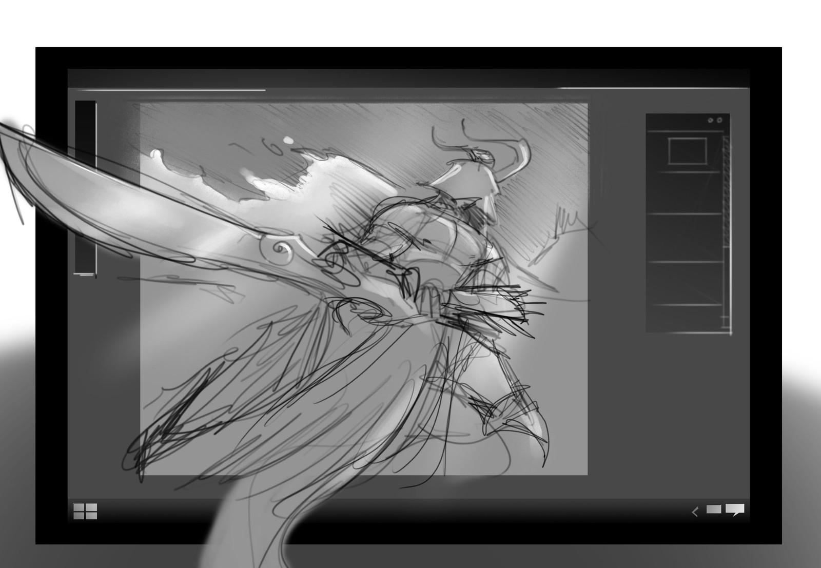 Surface Studio - Marketing Concept Illustrations