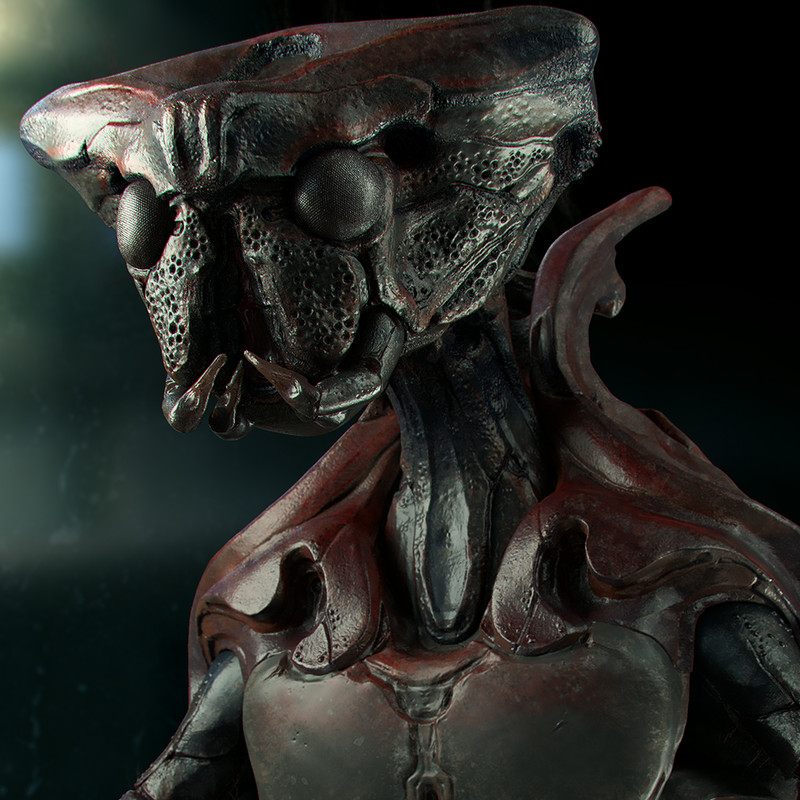Insectoid Bust