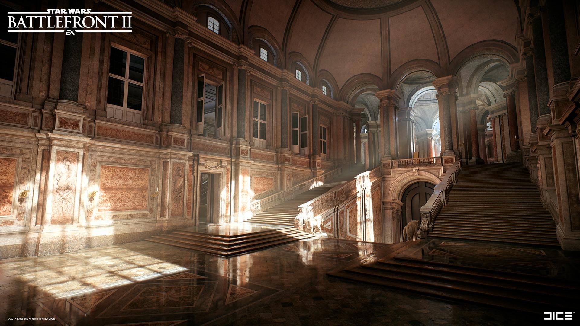 Pontus Ryman Star Wars Battlefront Ii Theed City Throne Room