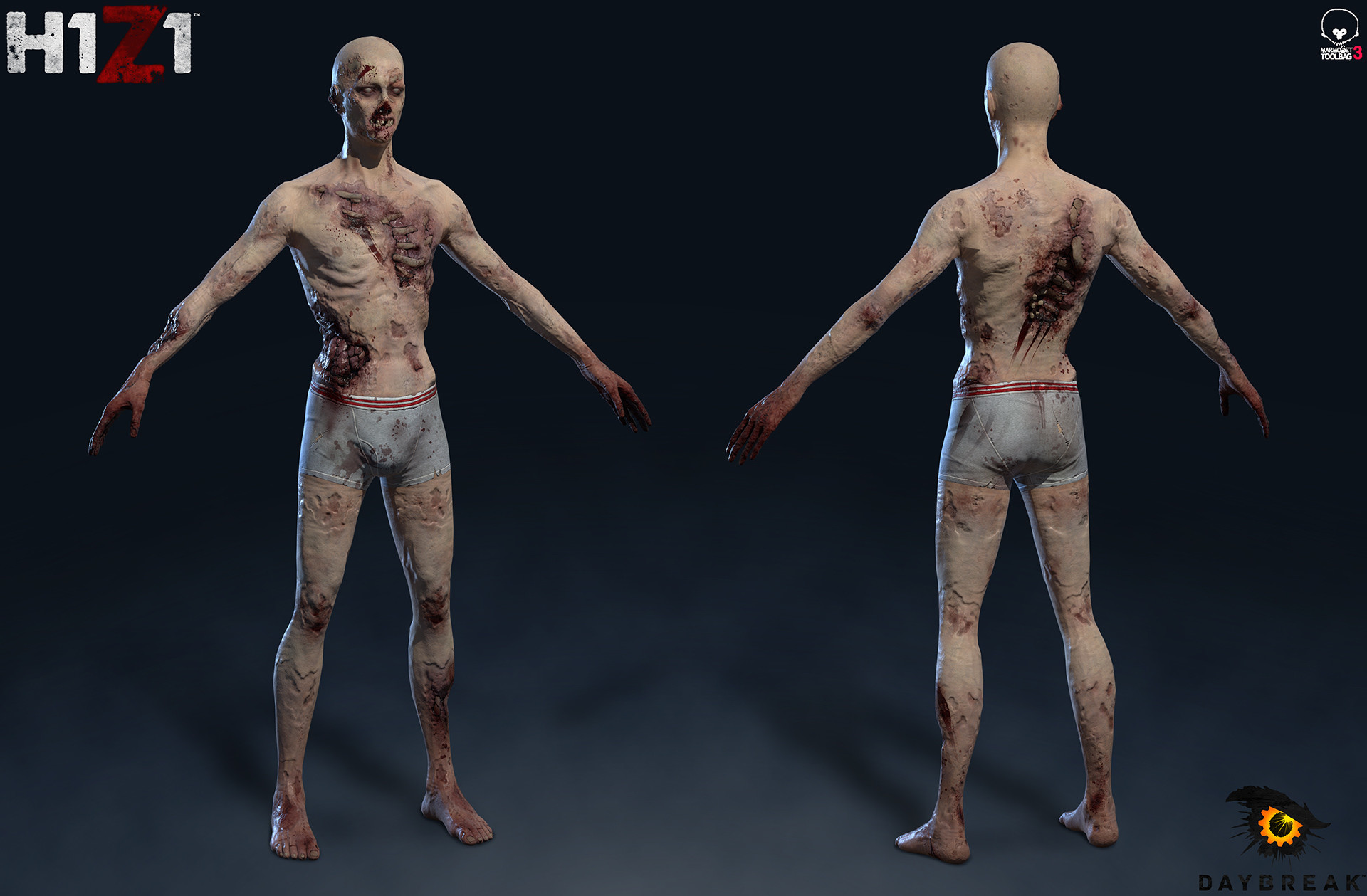 Satoshi arakawa zombie male body