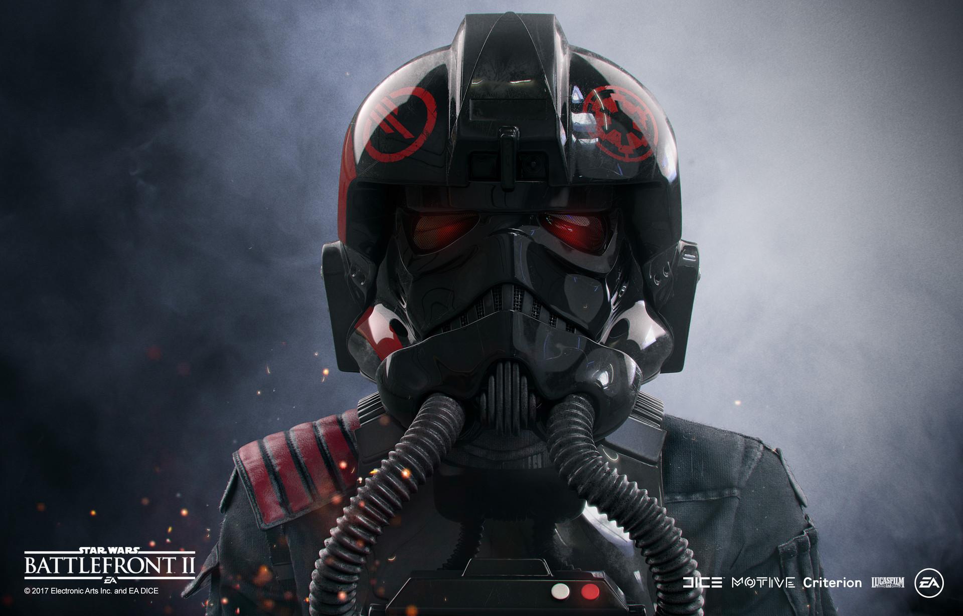 247f6b6c ArtStation - Star Wars Battlefront 2 - Inferno Squad - Iden closeup ...