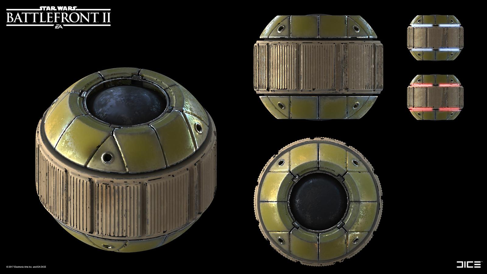 Bossk´s toxic grenades.