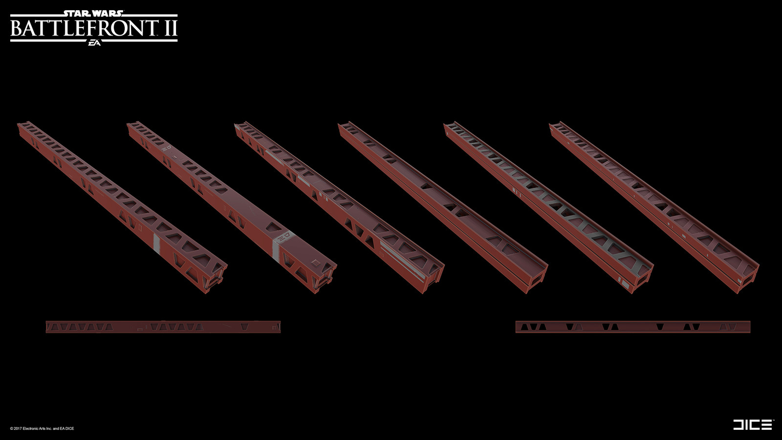 A modular beam system for Death Star 2.