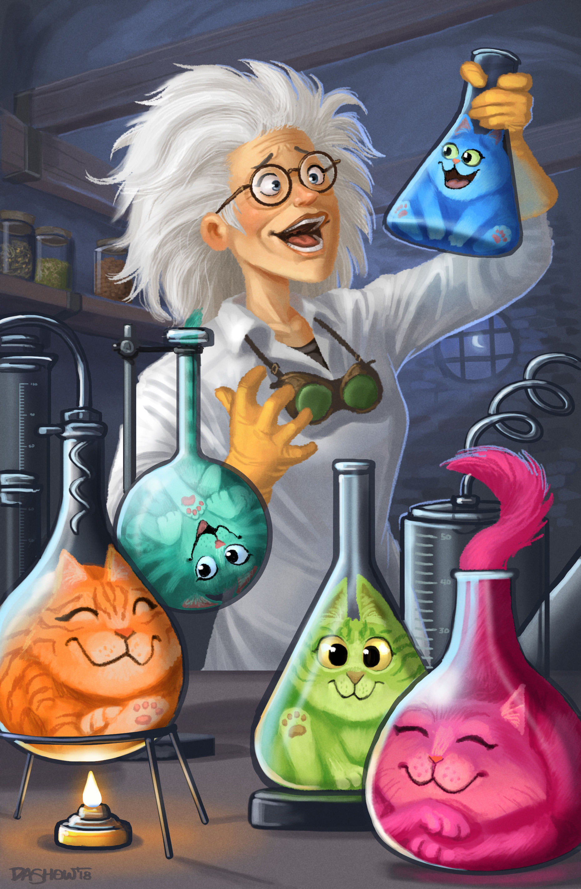 Michael dashow cat scientist 02 final signed