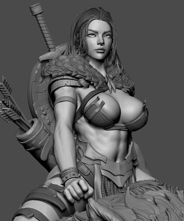 WIP : Viking Girl