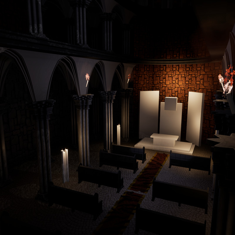 Gothic Cathedral -Work in Progress-