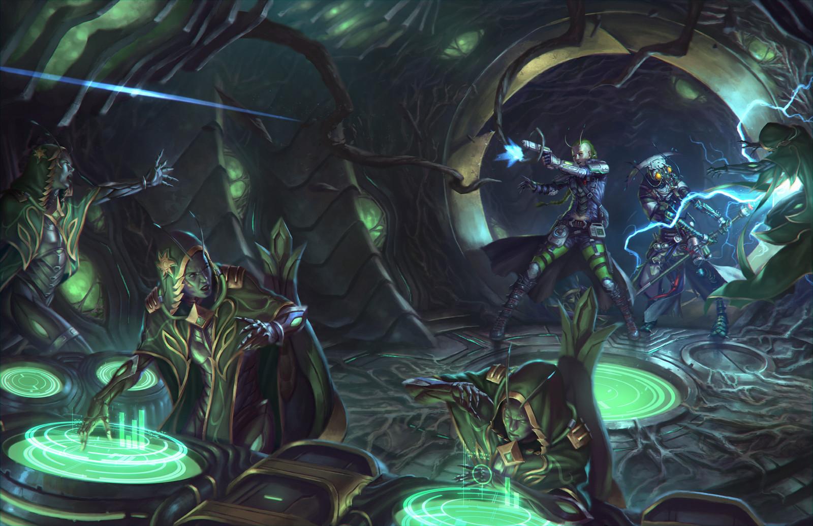 Starfinder - bioship