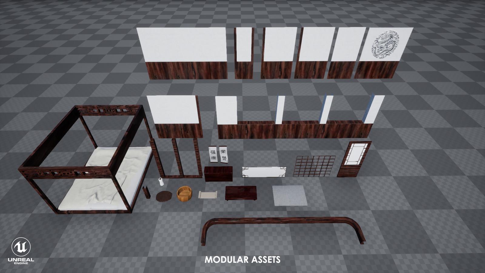 Modularity display