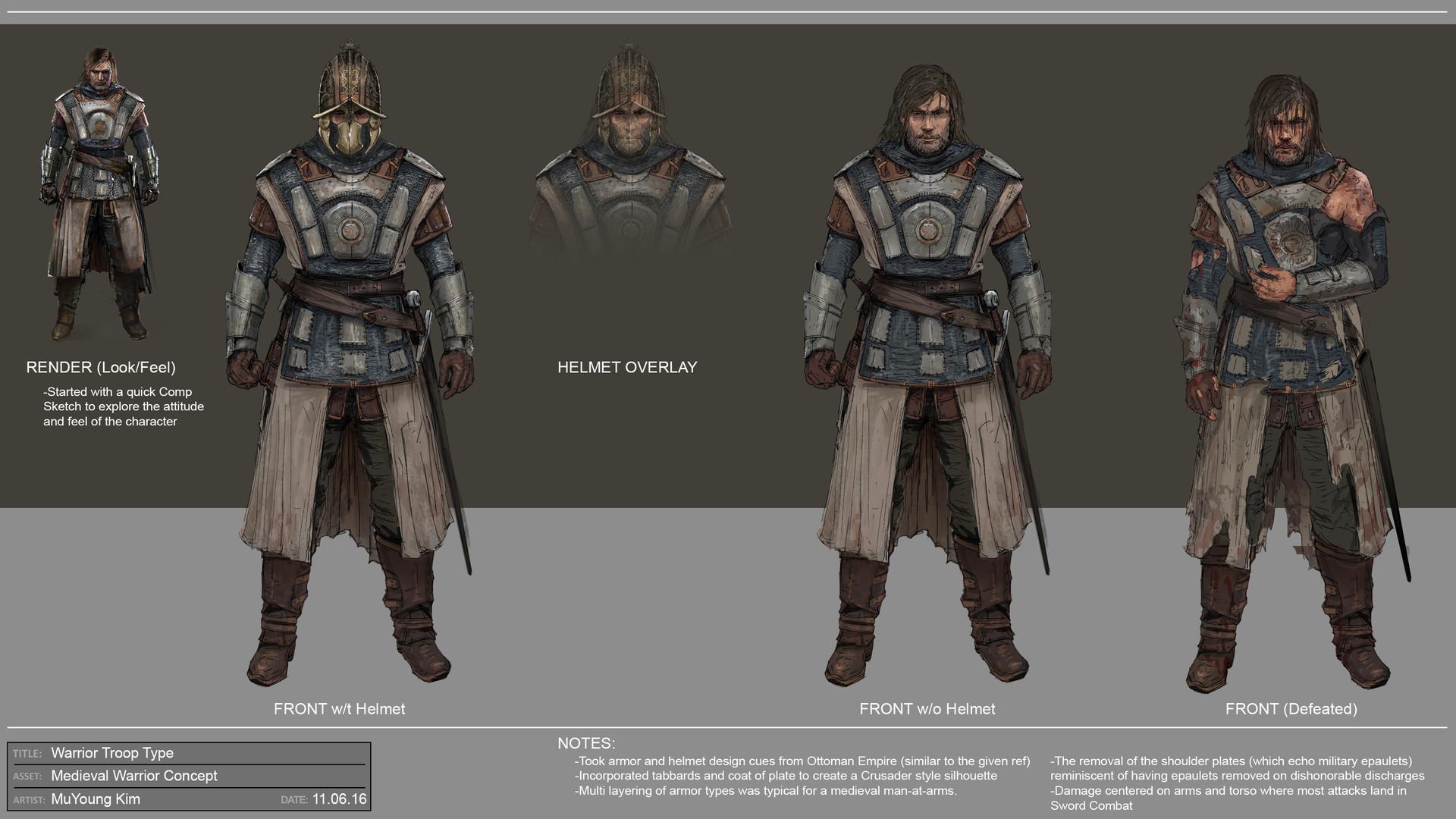 Muyoung kim warrior troop concept 1