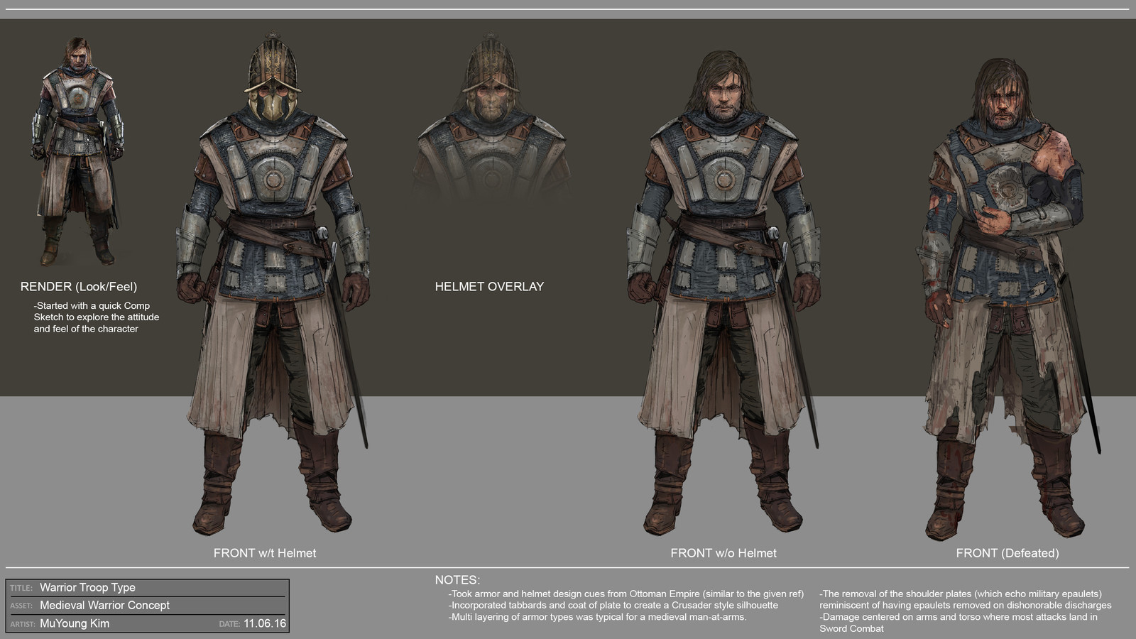 Warrior Troop Concept