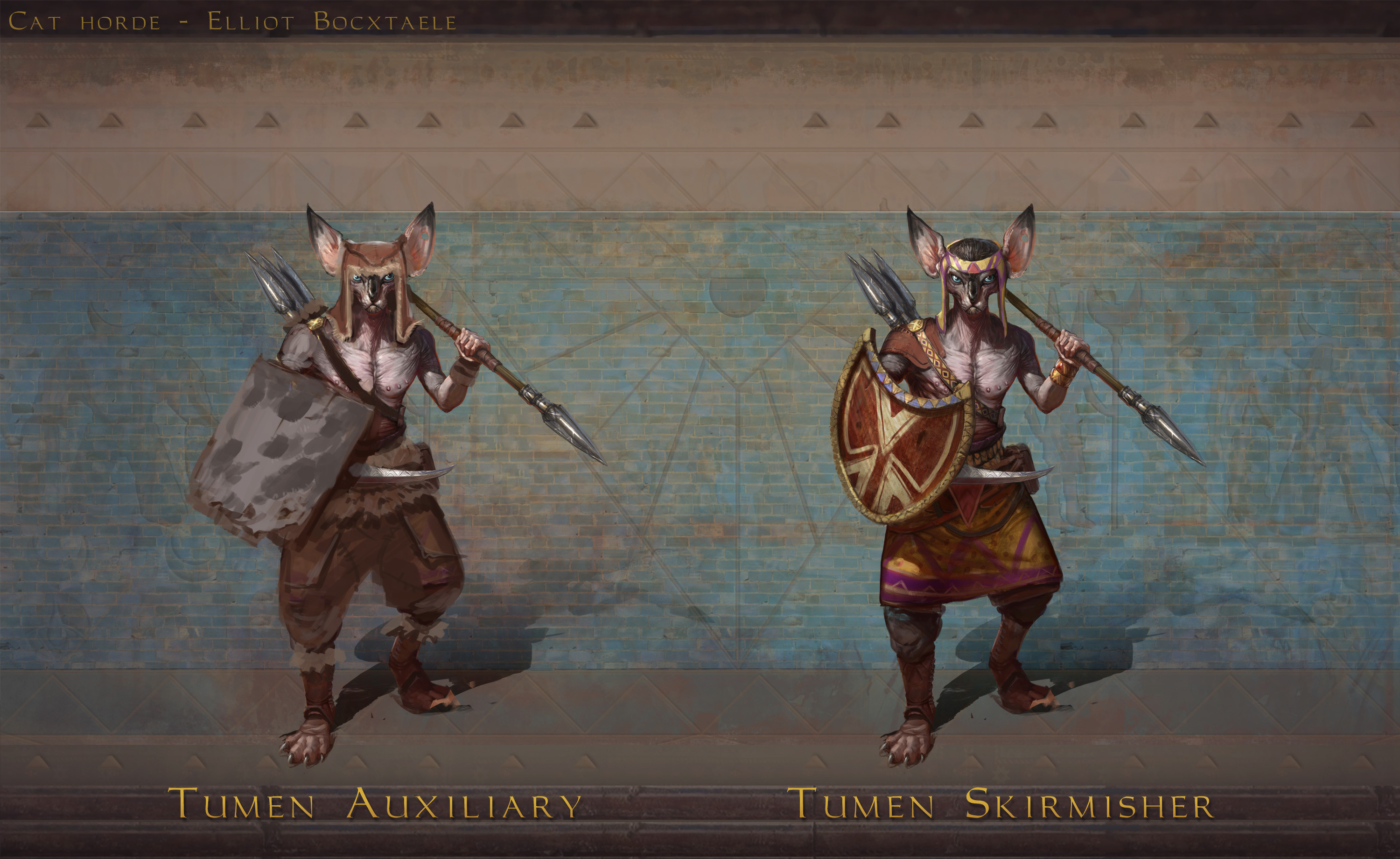 TIER 1 Tumen. Tumen are plentiful and conscripted from all the corner of the realm. The khans use them to harass and soften up the enemy from a distance. , fleeing when ...