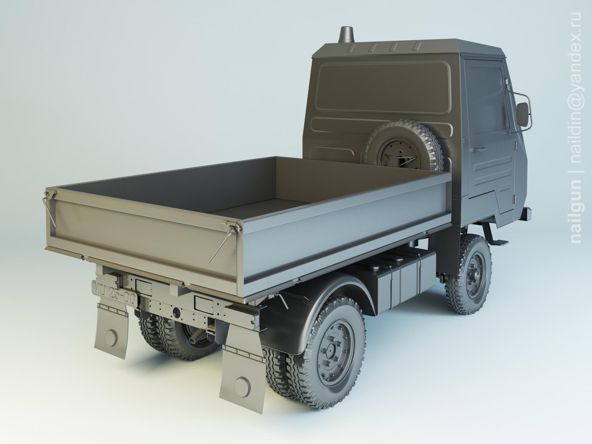 Nail khusnutdinov als 167 002 multicar m25 modelling 1