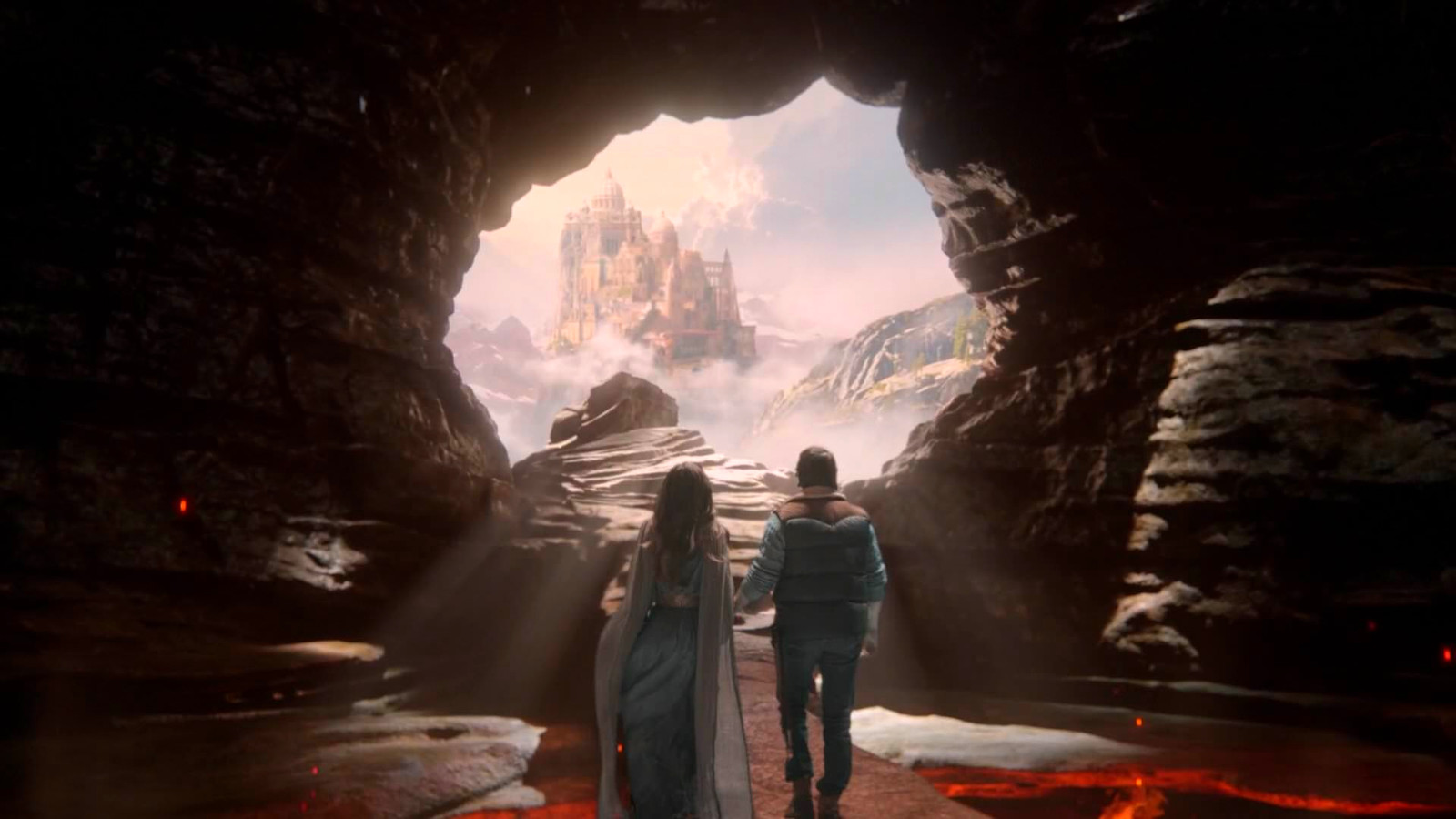 Mount Olympus - Once Upon  a Time Season 5 - ZOIC Studios Final Shots