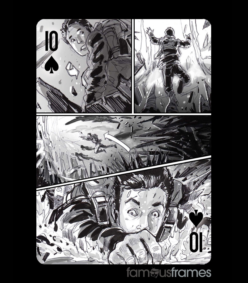 Famous Frames Inc. - Famous Frames Illustrated Playing Cards