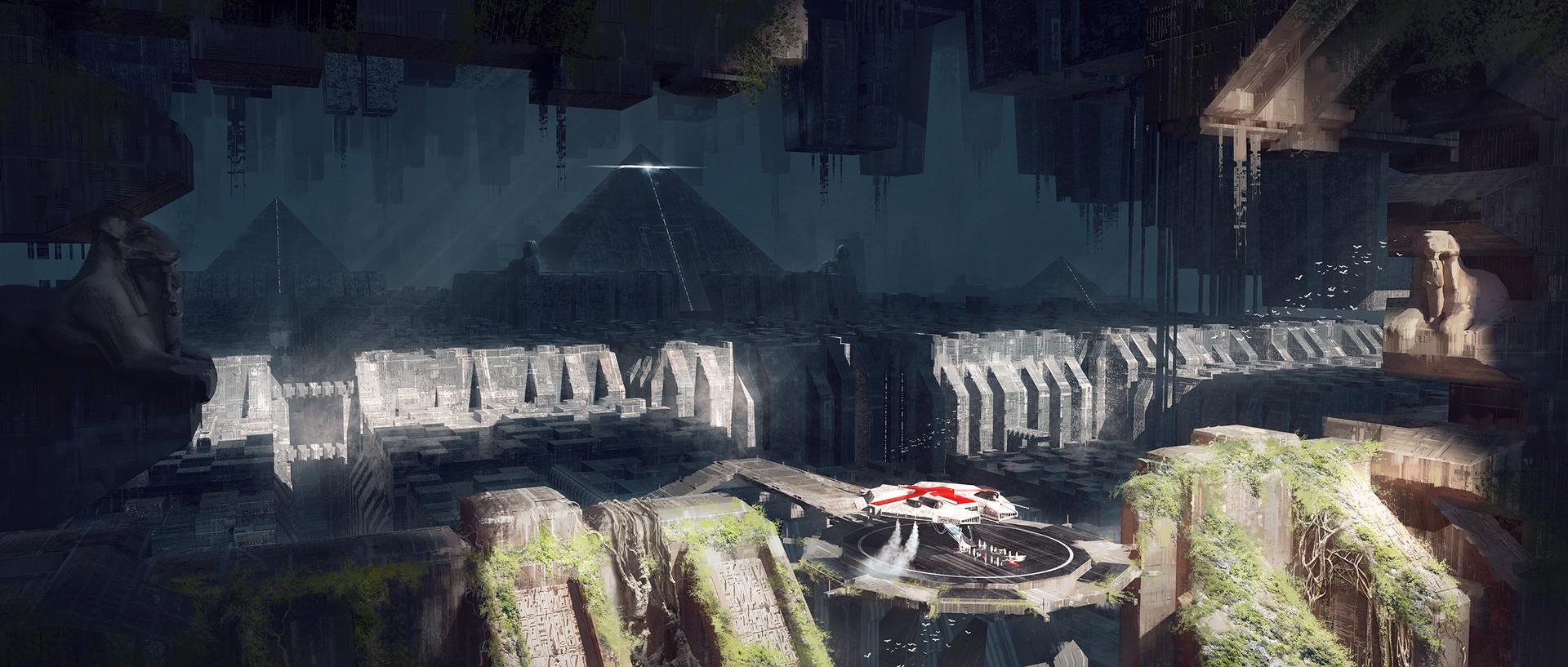 Joakim ericsson necropolis painting3
