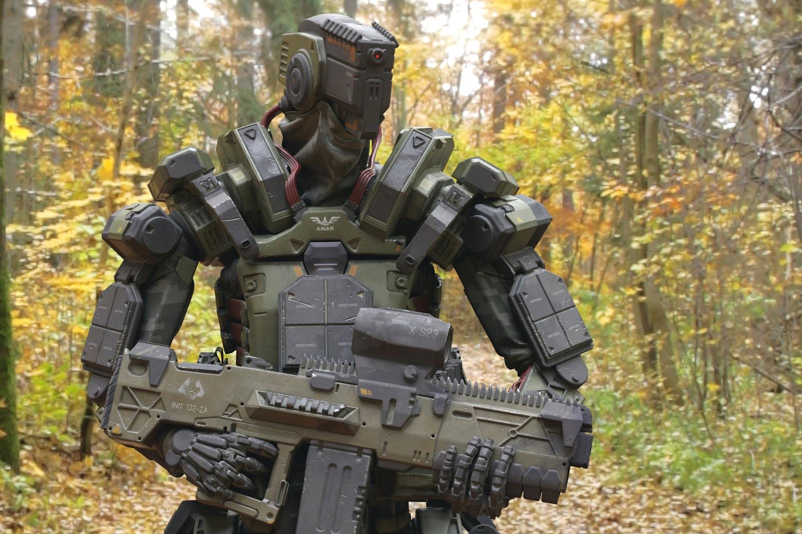 Amak Robot Soldier