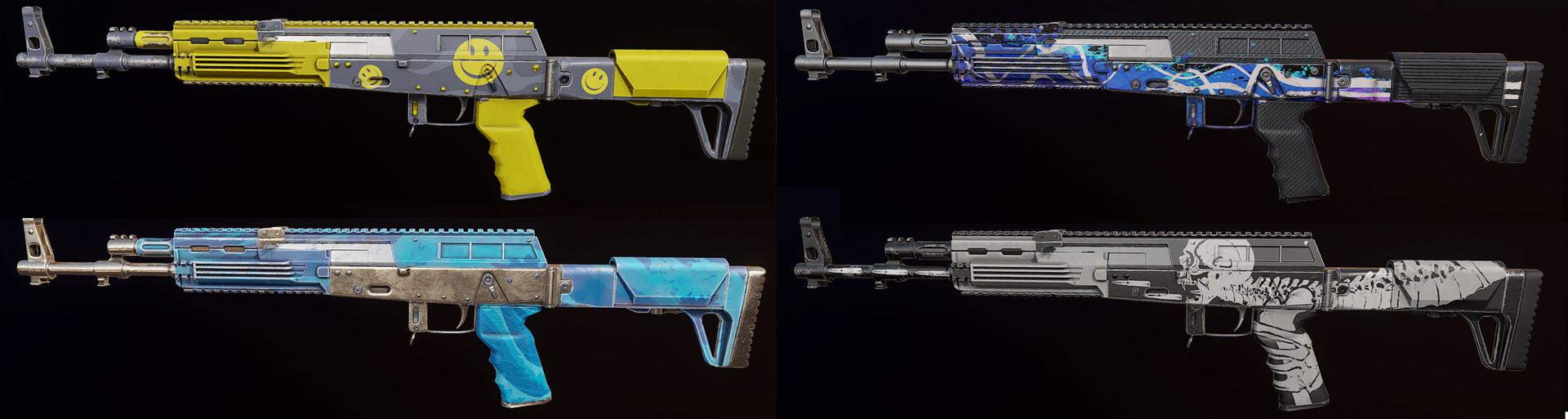 AK-12 Skins
