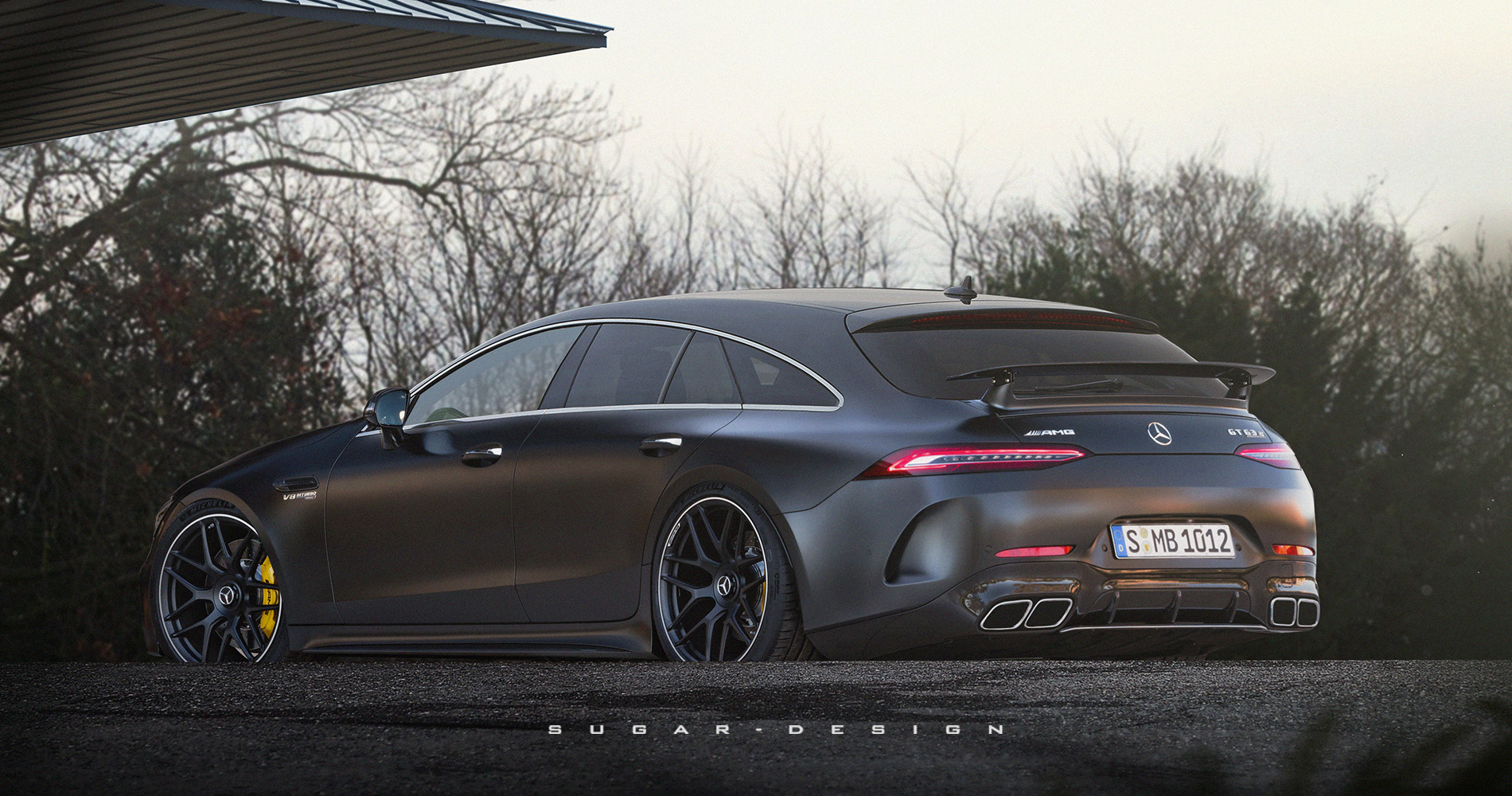 Sugar Chow - Mercedes-AMG GT 4-Door Shooting Brake