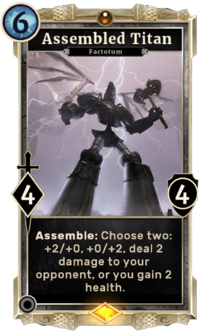 As it appears on the card (without lightning effect on axe)