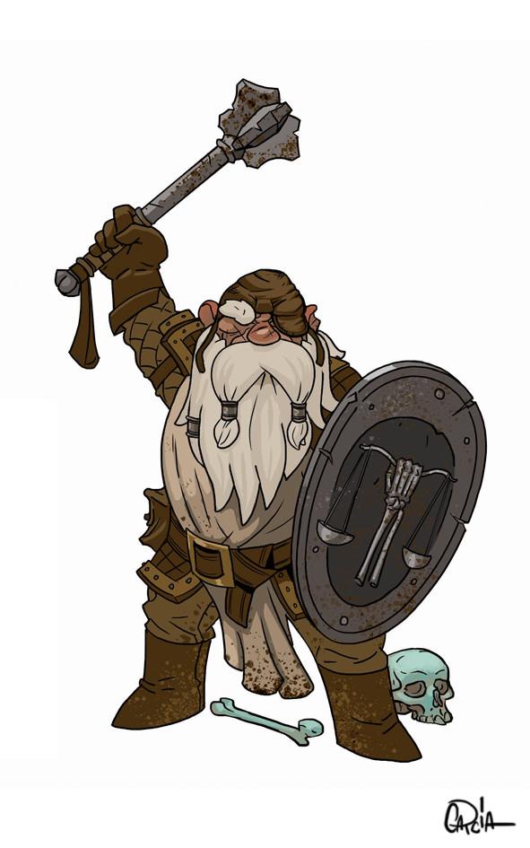 Chaim garcia dwarf grave domain cleric