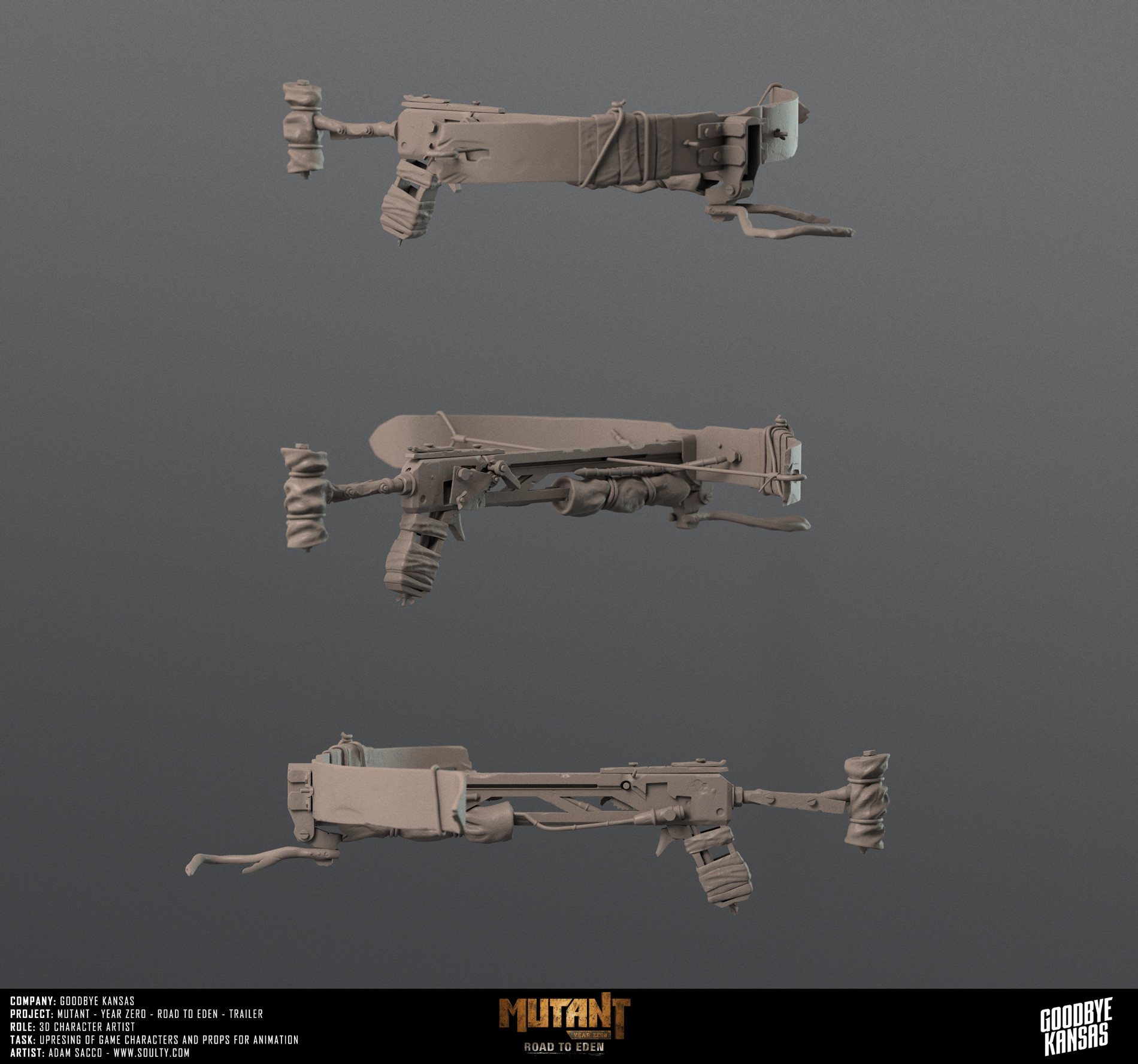 Crossbow prop
