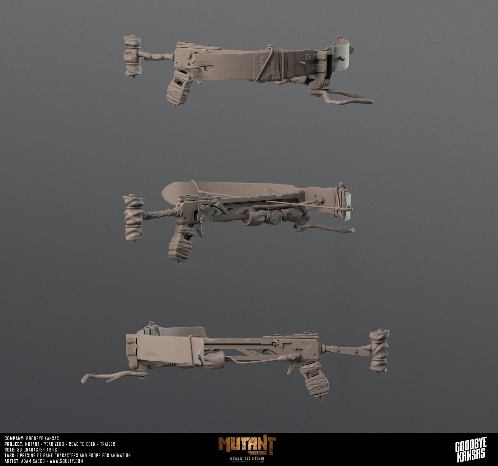 Crossbow prop