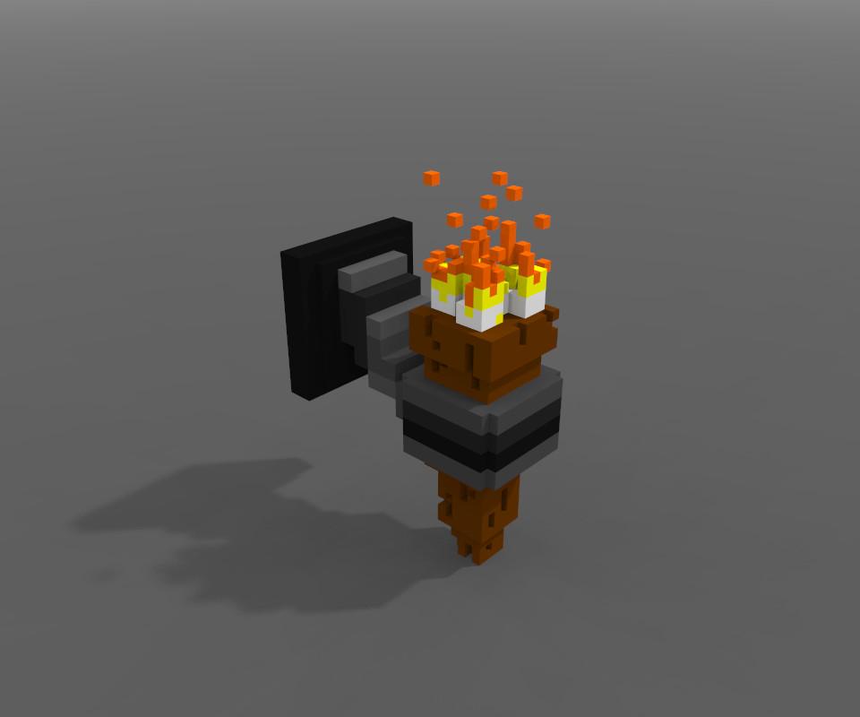 ArtStation - Voxel Models, Inferno Digital