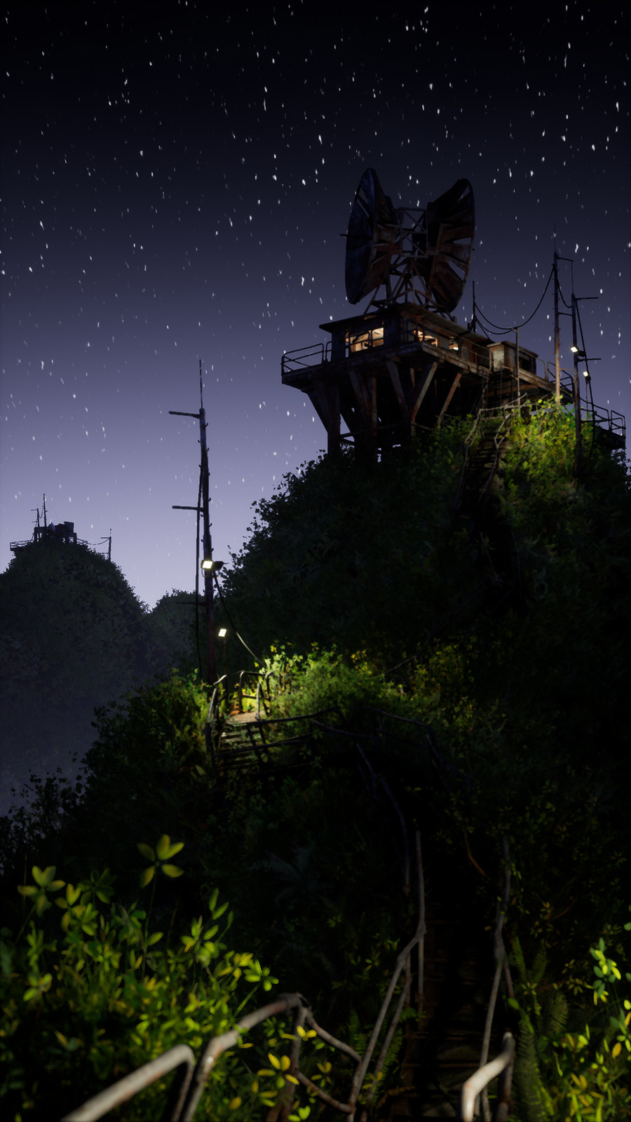 Stairway - Night