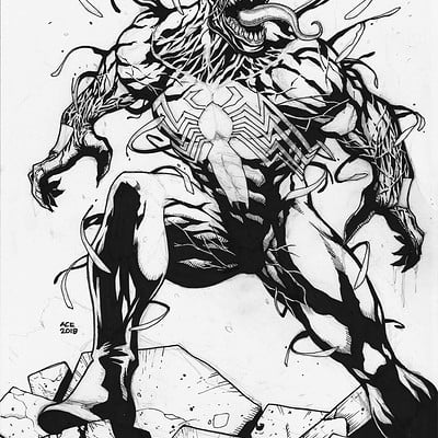 Ace continuado venom inks copy
