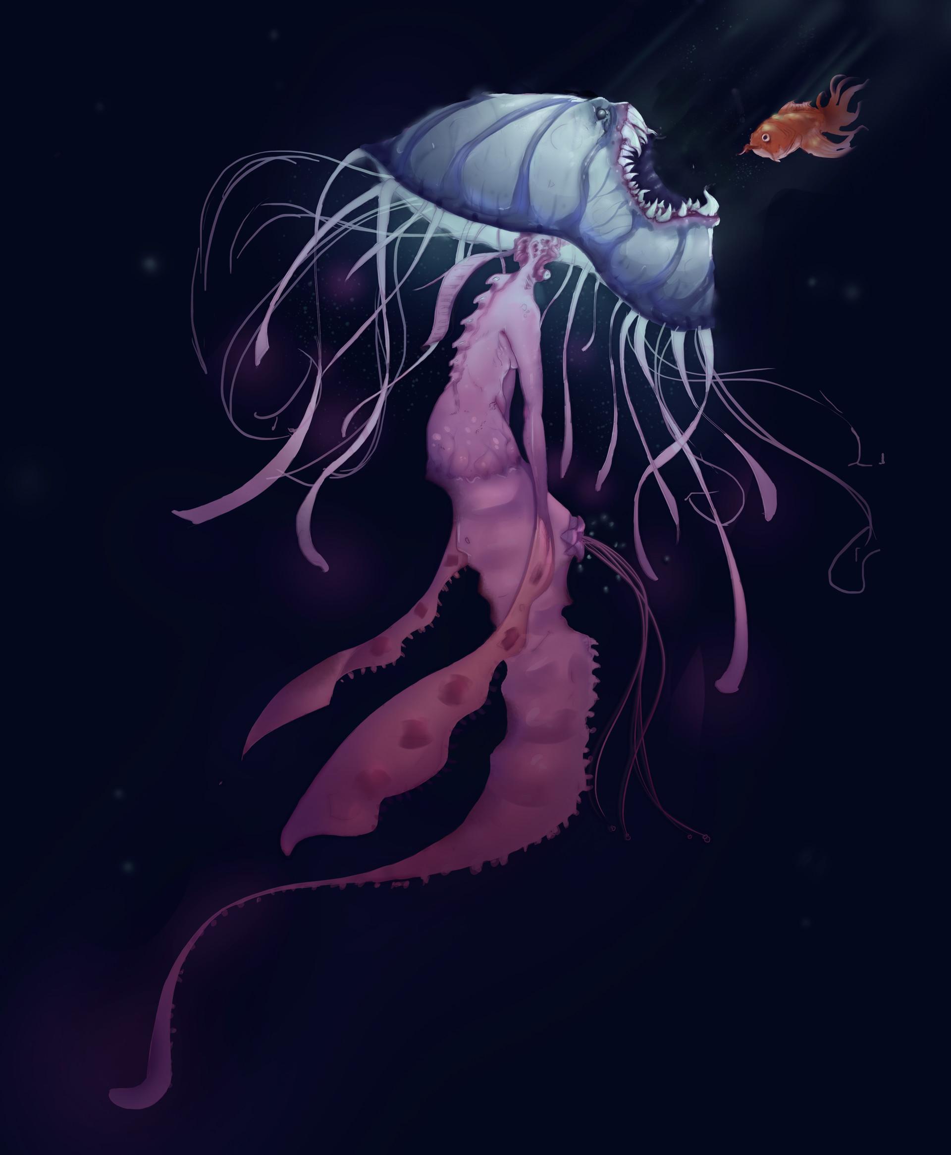 Boyan kazalov jellyfishmonsterplant5