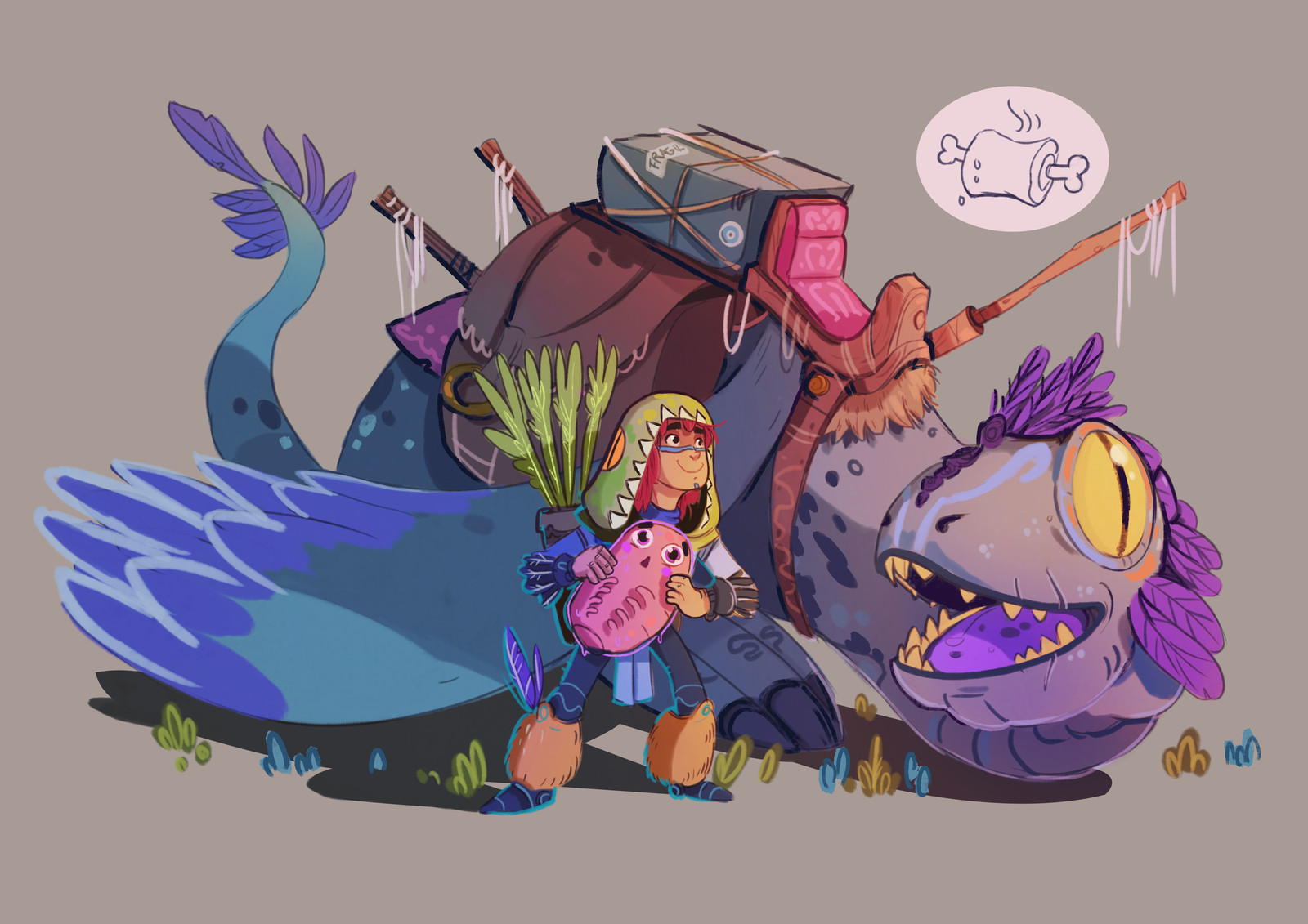 DRAGON&DRAGONRIDER