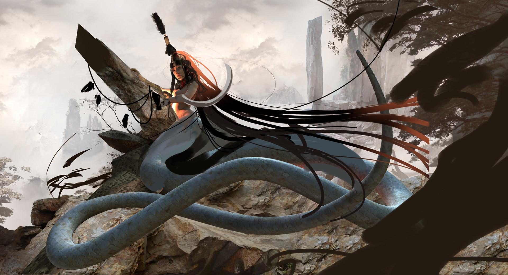 Magdalena radziej snake lady2