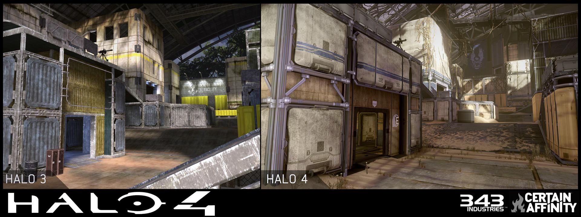 Jason Bretz - Halo 4 DLC Pitfall Multiplayer Map