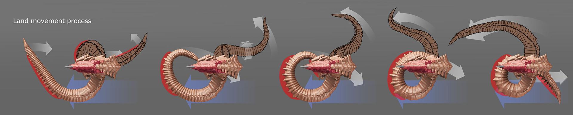 Francis goeltner grimmodds creatures temperatecontinent goreheadgator 05 m