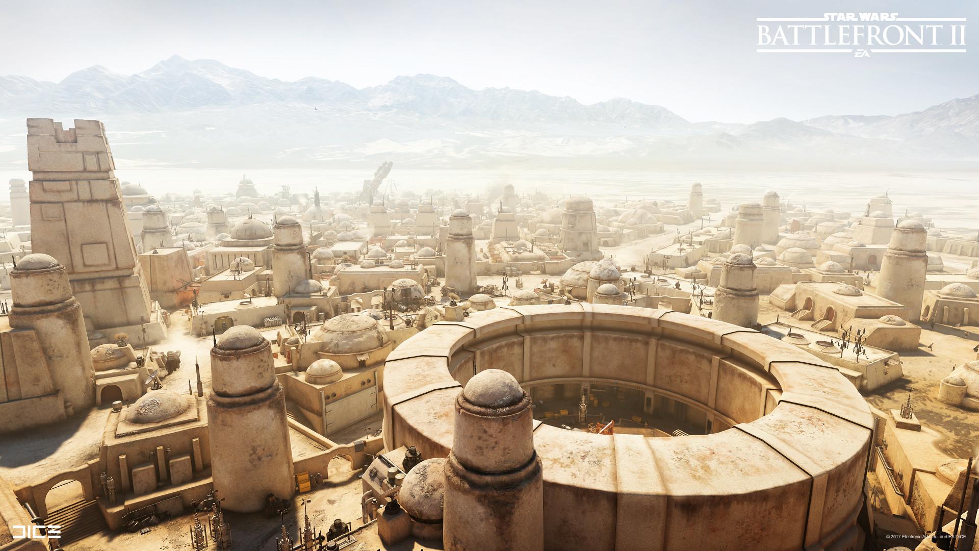 Artstation Star Wars Battlefront 2 Tatooine Per Smedjeback