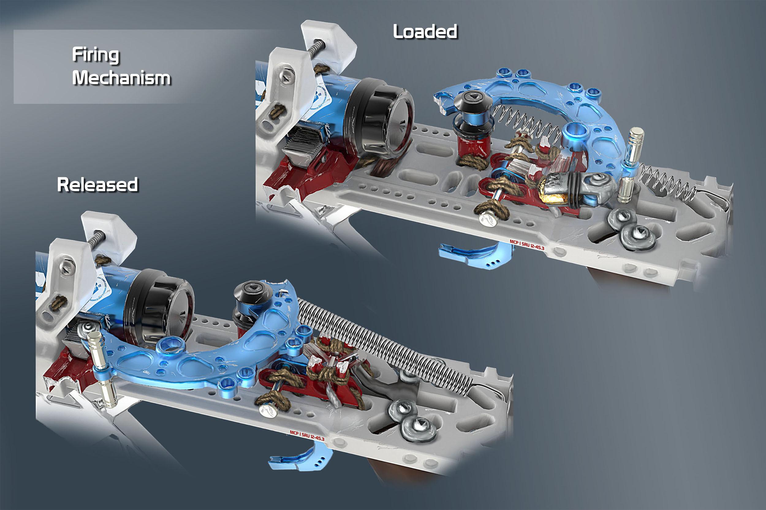 Grimm Odds - Flintlock Rifle - Mechanism Details