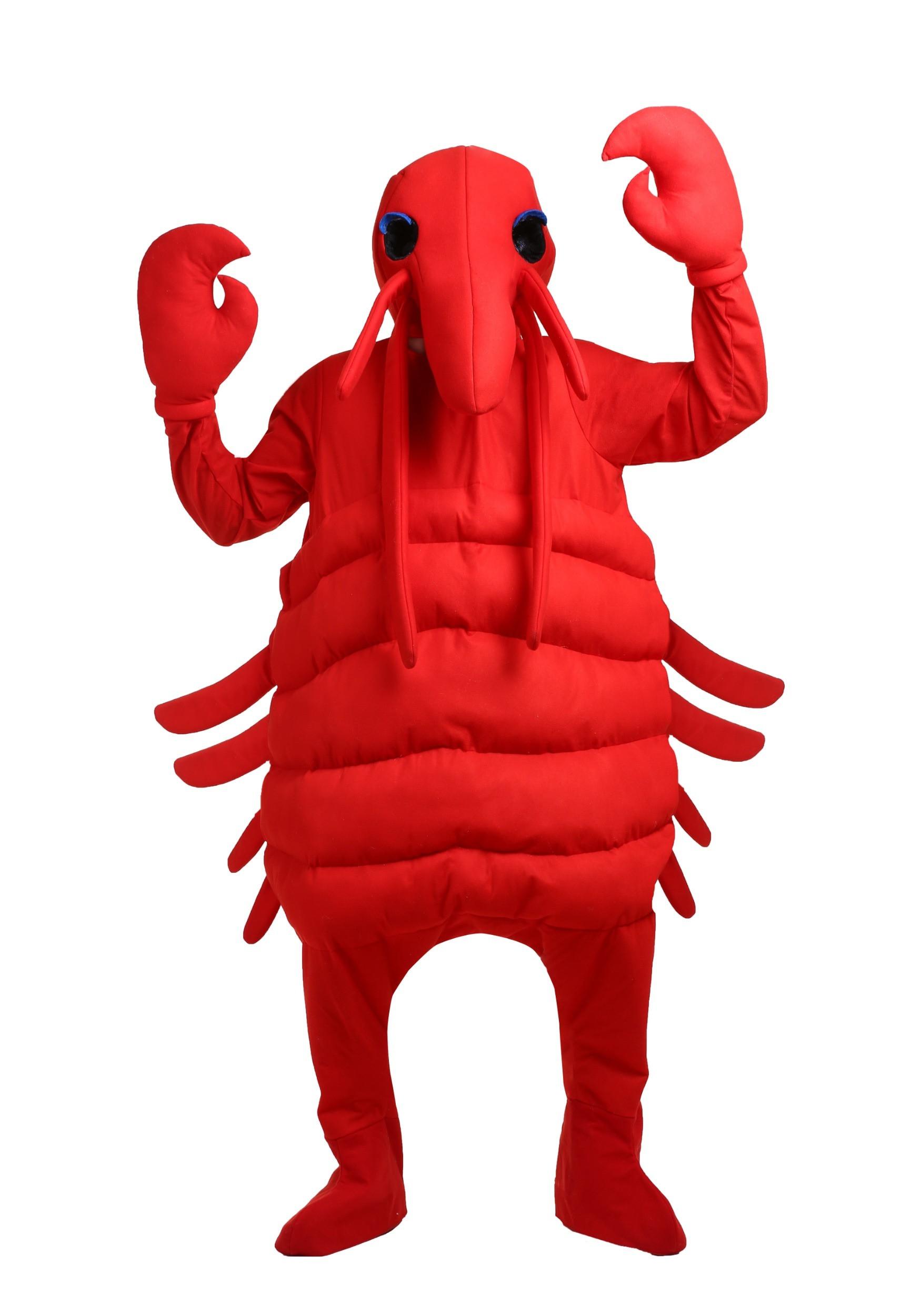 David tilton the lobster mens costume