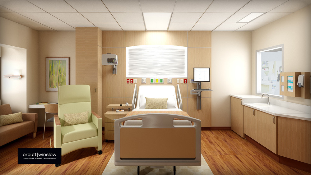 Sienna Rose Admitting and Patient room concept