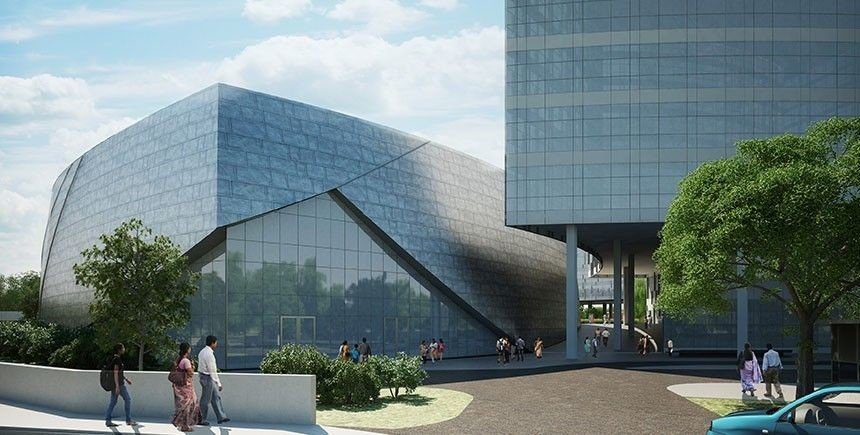 Future Knowledge Park - Chennai, India Concept