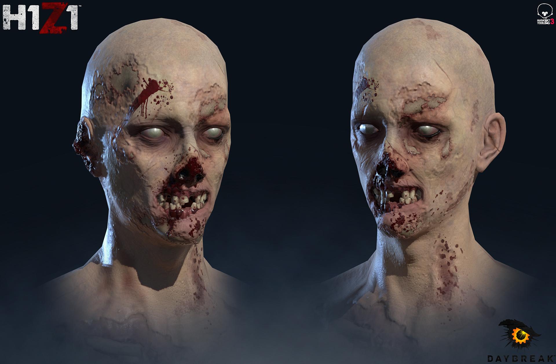 Satoshi arakawa zombie male hex 01
