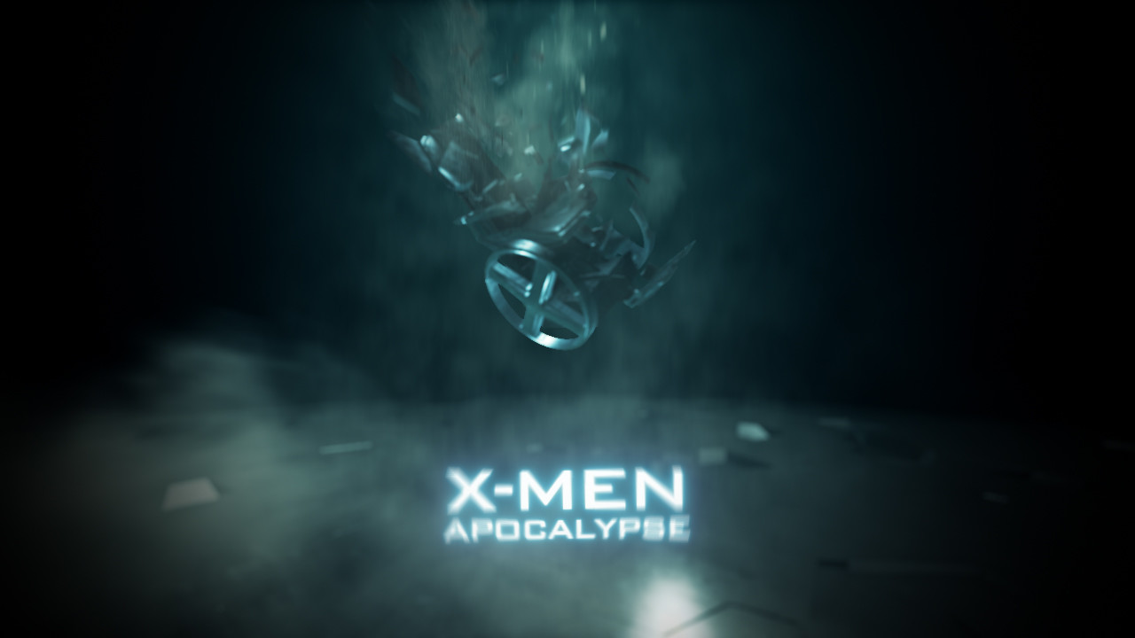 Modeling X Men Xavier Chair Scene