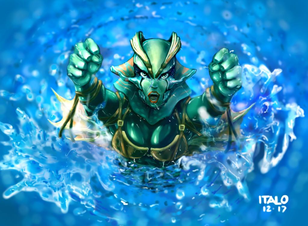 Italo cerqueira mermaid
