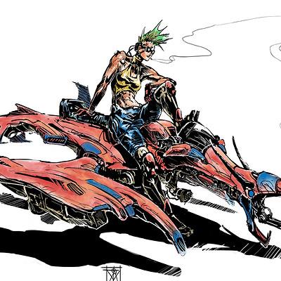 Atom cyber dragon rider colors