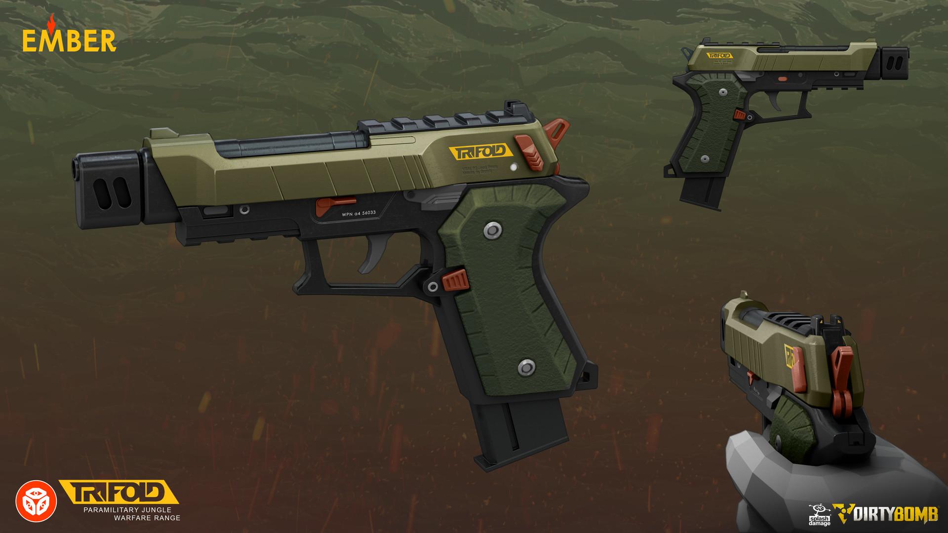 Andrew porter ap ember pistol final