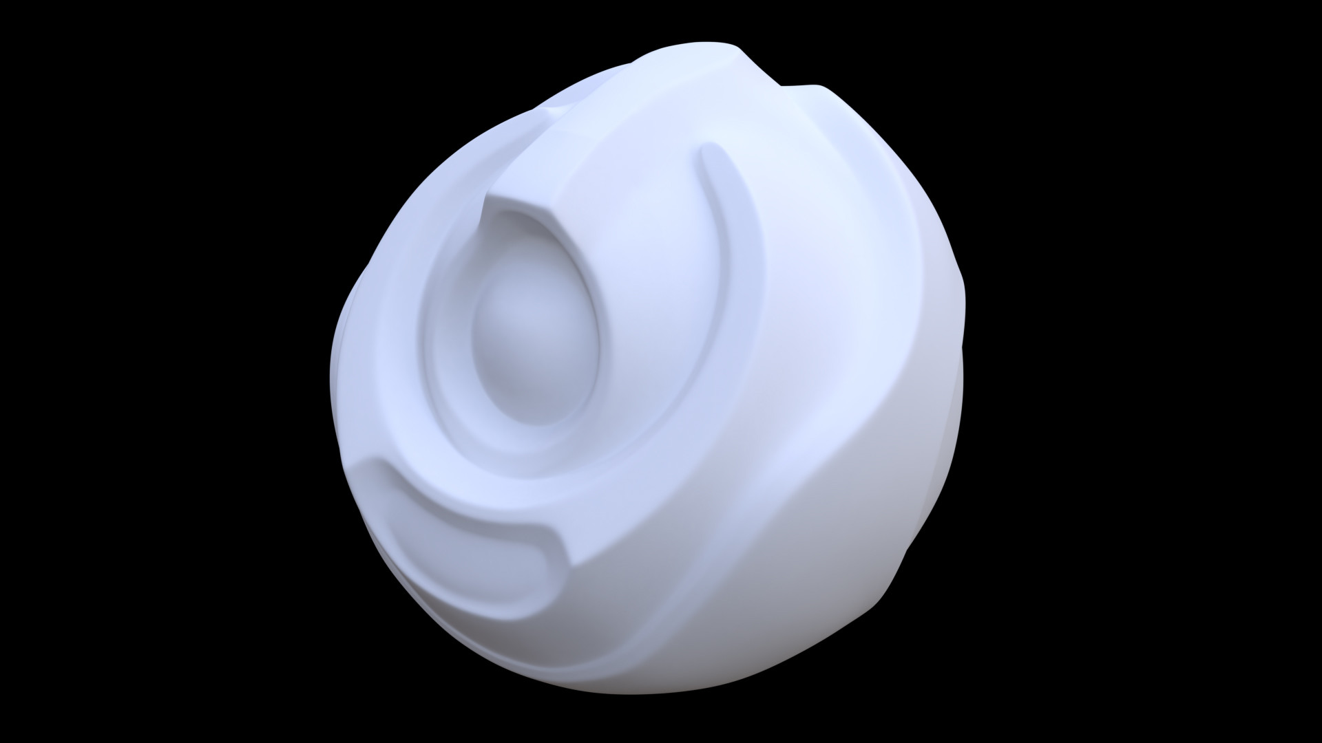 Robotic Orb (retopology).