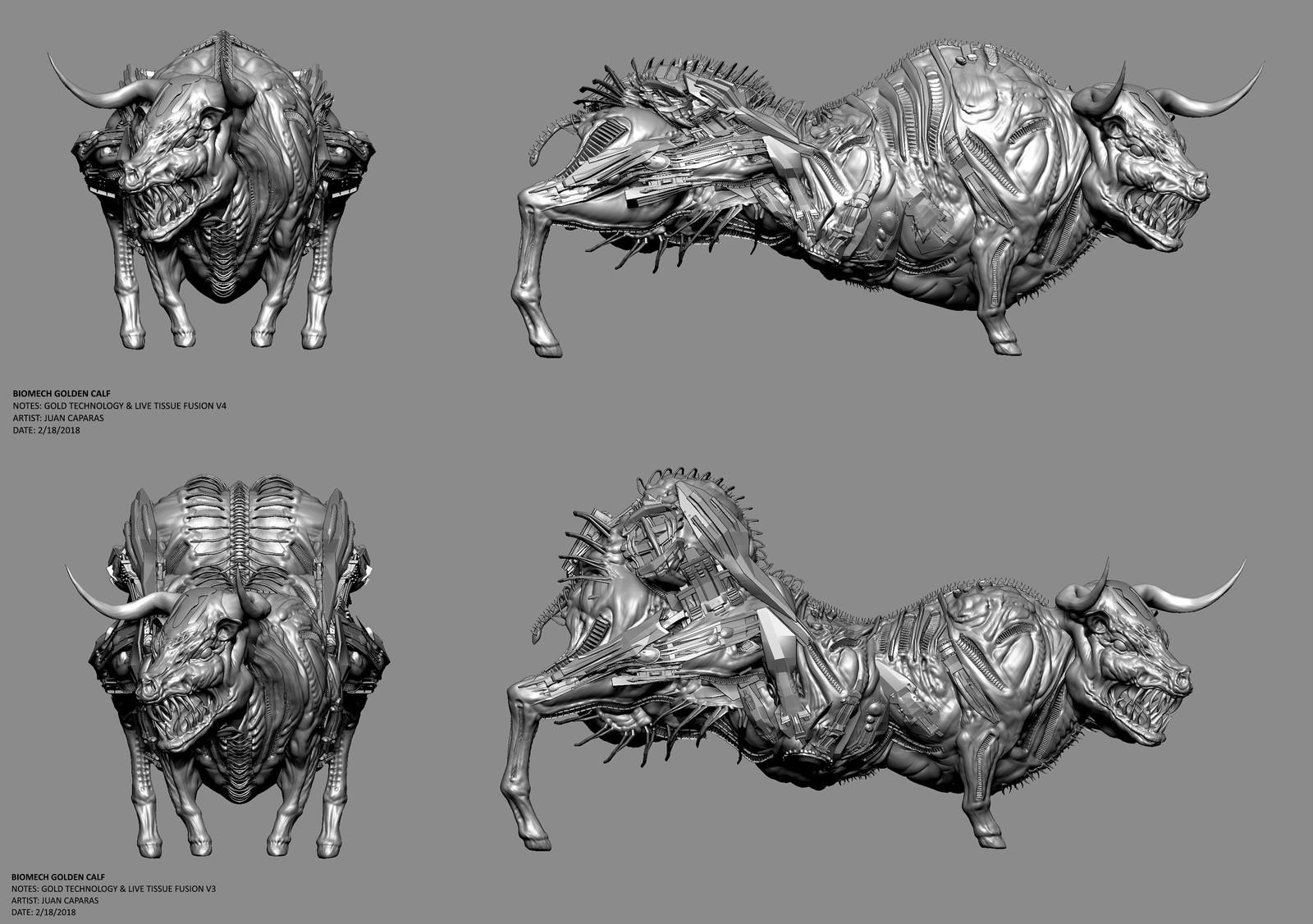 Biomech Golden Calf | Billy Philips (Lecturer)
