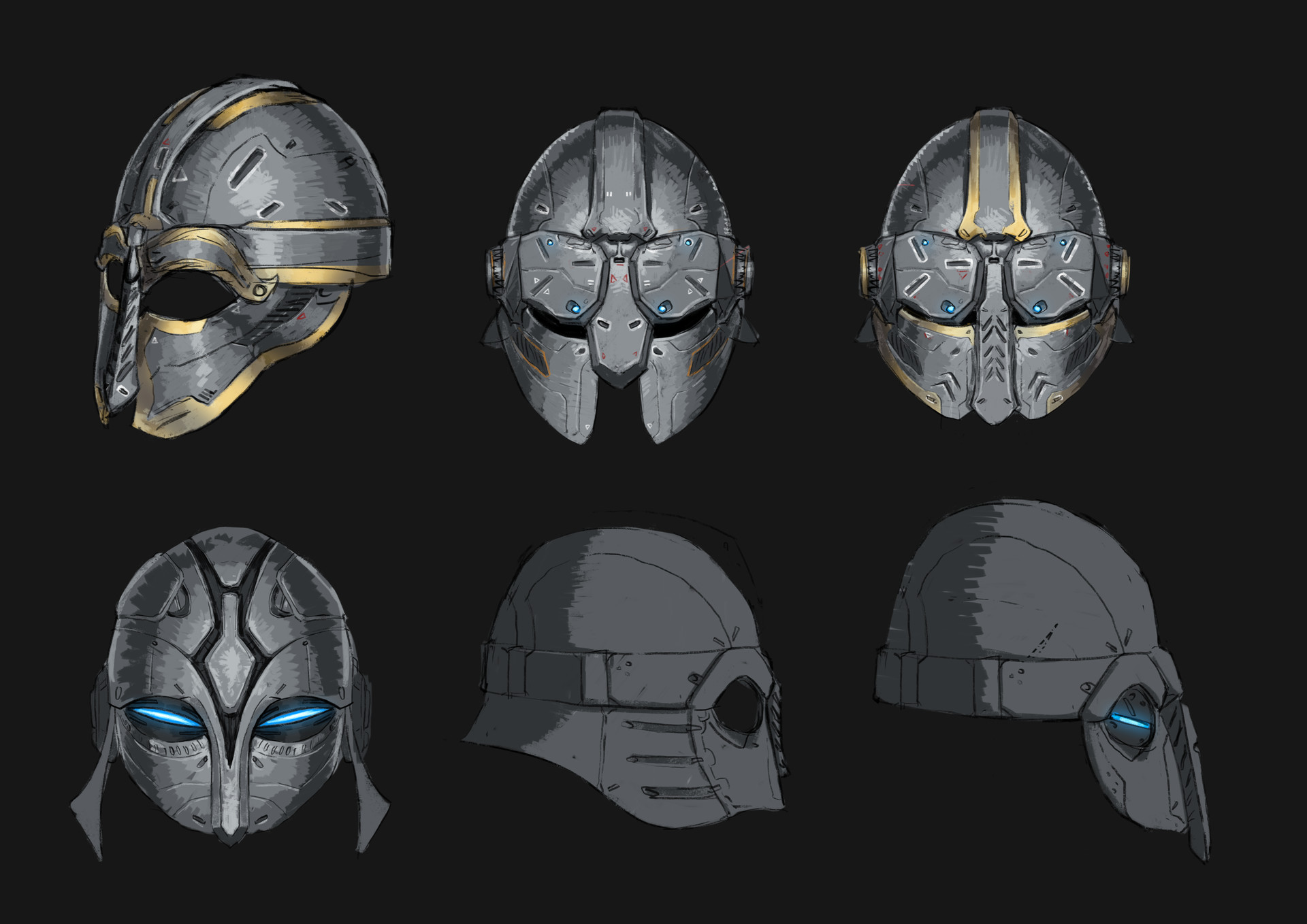 Erlend capodanno helment design02