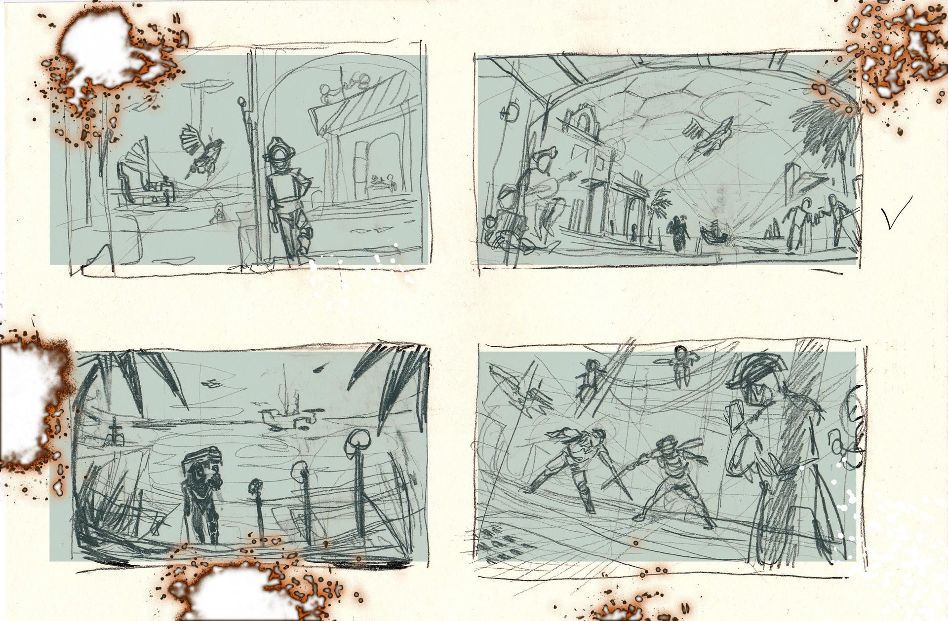 Claudia cocci apocalypse sketches